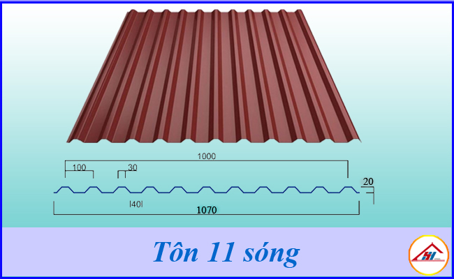 Mua tôn 11 sóng, 6 sóng , gói ruby uy tín chất lượng giá rẻ tại hải phòng
