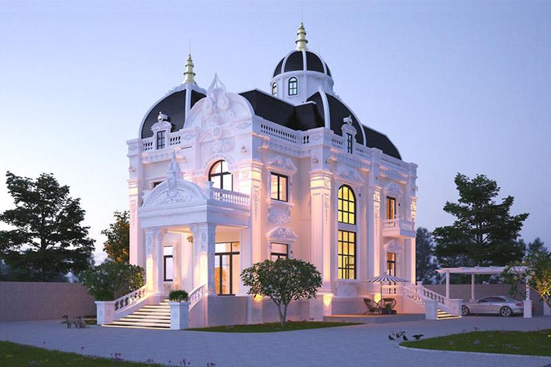 nhà mái vòm